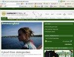 www.queenstreet.se skärmdump Hammarby damfotboll Mikaela de Ville