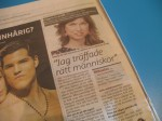 www.queenstreet.se Mikaela de Ville intervjuas i Metro