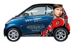 Mikaela de Ville Smart Car