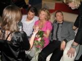 Hey Baberiba-gänget: Peter Magnusson, Christine Meltzer, David Helleniu